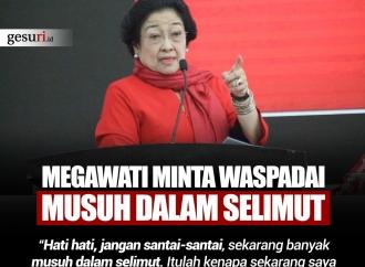 Megawati Minta Cakada Waspadai Musuh dalam Selimut