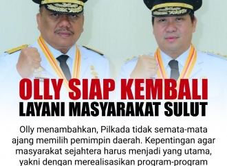Olly Siap Kembali Layani Masyarakat Sulawesi Utara