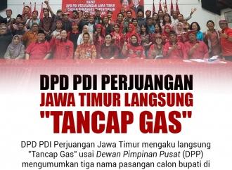 """DPD Perjuangan Jawa Timur Langsung """"Tancap Gas"""""""
