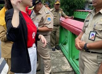Sidak Banjir, Tina Toon Protes Keras Pemda DKI