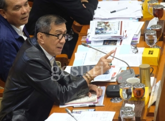 Dengan Sindiran, Yasonna Tangkis Cecaran Politisi Demokrat