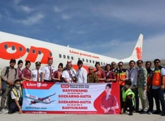 Rute Jakarta-Banyuwangi Lion Air, Pacu Ekonomi Timur Jawa