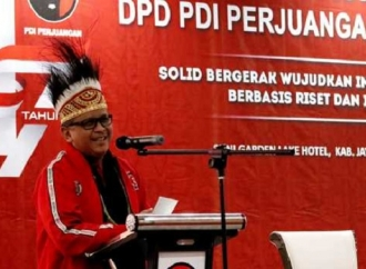 PDI Perjuangan Hanya Ikut 9 Kabupaten di Pilkada Papua