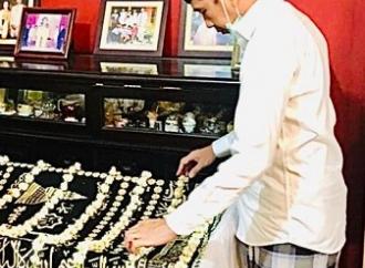 Presiden Jokowi Mohon Doa Masyarakat Bagi Almarhumah Ibunda