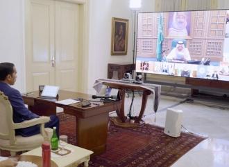 Jokowi Ikuti KTT LB G20 Secara Virtual dari Istana Bogor