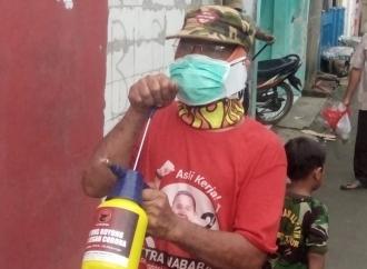 Cegah Corona, Warga Jaktim Bersyukur Dibantu Putra