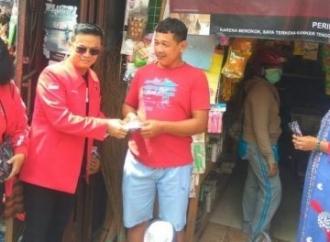 PDI Perjuangan Salatiga Gratiskan 2.000 Masker & Pembersih
