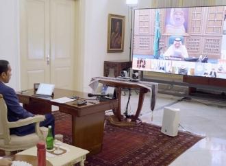 Sampaikan Duka Cita, Putra Mahkota Arab Saudi Telepon Jokowi