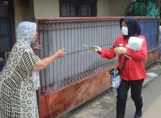 DPC PDI Perjuangan Jaksel Gotong Royong Lawan Corona