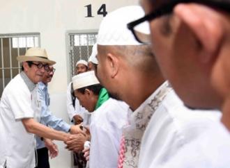 Penyemprotan Disinfektan di Lapas, Yasonna Gandeng PMI