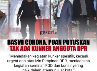 Basmi Corona, Puan Putuskan Tak Ada Kunker Anggota DPR