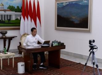 Hore, Presiden Pastikan 433 Desa Segera Teraliri Listrik
