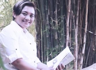 Diana Amaliyah Gerakkan Warga Gotong Royong Bikin Masker