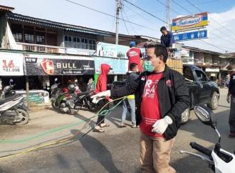 Lanjut Terus, Aksi Sosial PDI Perjuangan Sambas Lawan Covid