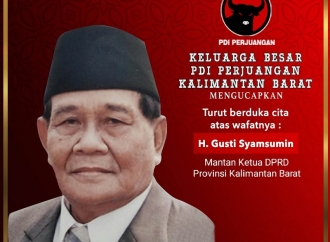 PDI Perjuangan Berduka Atas Wafatnya Gusti Syamsumin