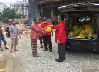 PDI Perjuangan Malaysia Gelar Aksi Sosial untuk TKI
