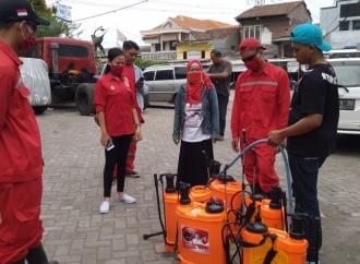 PDI Perjuangan Semarang Lakukan Gerakan Pencegahan Covid-19