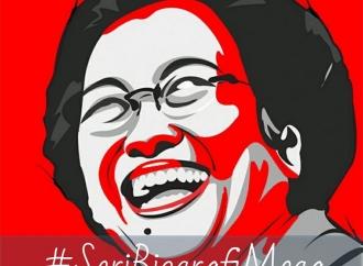 Megawati Soekarnoputri dan Senyum Yang Menenangkan