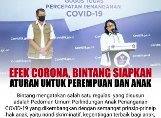 Efek Corona, Bintang Siapkan Aturan untuk Perempuan dan Anak