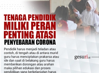Tenaga Pendidik Miliki Peran Penting Atasi Penyebaran Corona