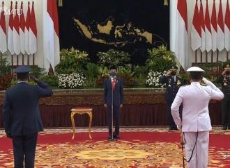 Presiden Jokowi Lantik KSAU dan KSAL yang Baru