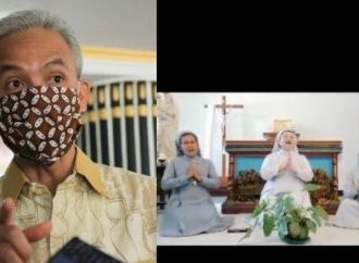 Ganjar Puji Suara Indah 3 Suster Katolik Nyanyi Lagu Lebaran