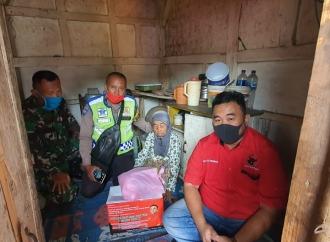 Banteng Garut Salurkan Bantuan ke Daerah yang Terisolasi