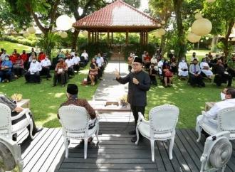 Anas Diskusi Dengan Pemuka Agama Terkait Normal Baru