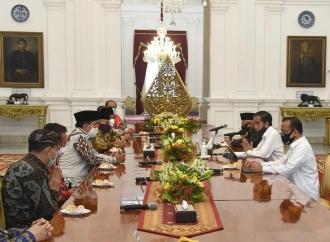 Presiden Bahas Covid dan 'New Normal' Dengan Tokoh Agama