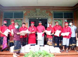 Bulan Bung Karno, Banteng Tabanan Gelar Apel & Baksos