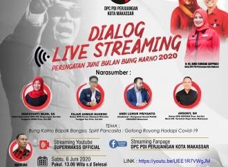 Banteng Makassar Awali Bulan Bung Karno dengan Dialog Online