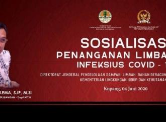 Ansy, KLHK & Pemprov NTTGelar Sosialisasi Limbah Covid