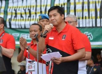 Maruarar Puji Kaum Muda Subang Dalam Menjaga Pancasila