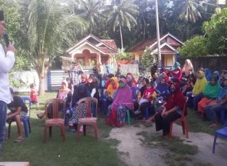 Yanuar Sambangi Masyarakat Kab. Pesisir Barat Lampung