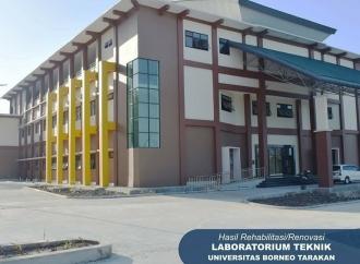 PUPR Rehabilitasi & Renovasi 3 Gedung Kampus Borneo Tarakan