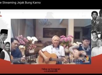 Jejak Bung Karno, Guntur Seokarnoputra Beri Kado Istimewa