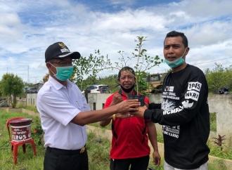 3 Pilar Banteng Kubu Raya Hijaukan Pos Polisi & Rumah Ibadah