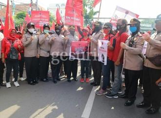 Pasca Pembakaran Bendera, PDI Perjuangan Percayakan Polri