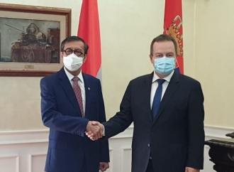 Yasonna Tegaskan Indonesia Dukung Keutuhan Serbia