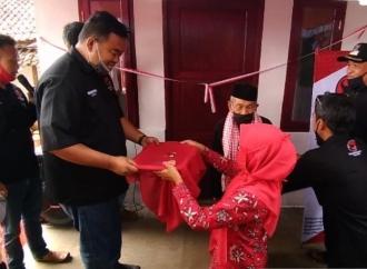 Banteng Garut Bantu Bangun Rumah untuk Kakek Sebatang Kara