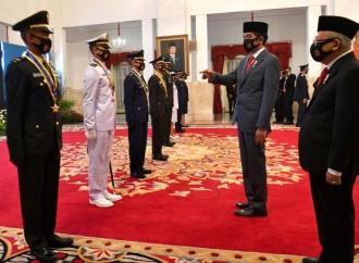 Presiden Sebut Tantangan Polisi Makin Berat
