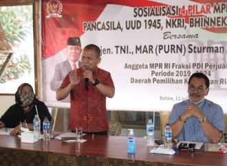 Sturman Sosialisasi 4 Pilar Gandeng Srikandi & Sarinah Projo