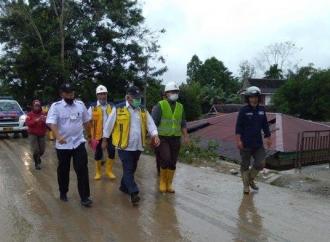 Basuki Tunjuk Dua BUMN Tangani Dampak Banjir Luwu Utara
