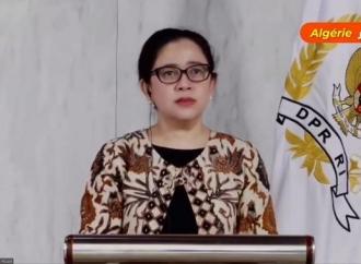 Sah! Puan Resmikan Monumen Soekarno di Aljazair