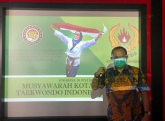 Cak Ji Targetkan Taekwondo Surabaya Juara Umum PORPROV