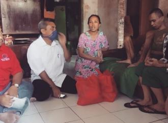 Keren, Kader Banteng Garut Bantu Penyandang Disabilitas