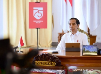 Basmi COVID-19, Jokowi Minta Masifkan Kampanye Pakai Masker