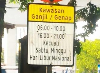 Gilbert Pertanyakan Penerapan Ganjil-Genap di DKI Jakarta