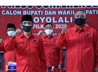 Pilkada 2020, Banteng Boyolali Mulai Kenalkan Said-Wahyu