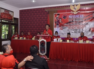 DPC PDI Perjuangan Sukoharjo Gelar Musancab